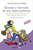 Libro 'Errores y horrores de una mamá primeriza'