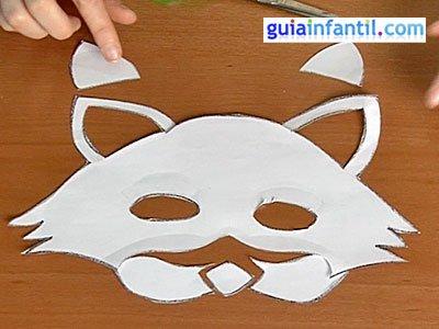 Antifaz de gato paso 3