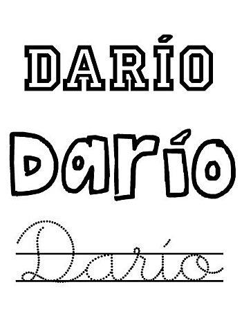 Día del santo Darío, 19 de diciembre, nombres para niños