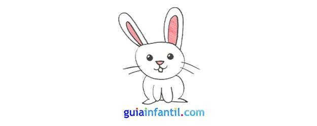 Cómo dibujar, paso a paso, un conejo.