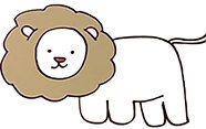 Aprender a dibujar un león.