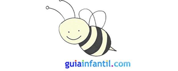 Cómo hacer, paso a paso, una abeja.