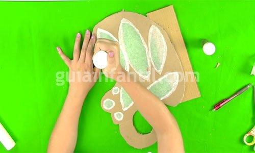Cómo hacer alas de mariposa caseras. Paso 3