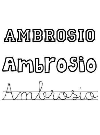Ambrosio, dia del santo Ambrosio, nombres para niños