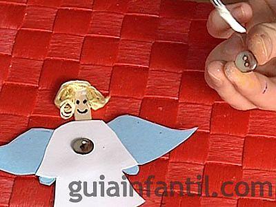 ángel manualidad 4
