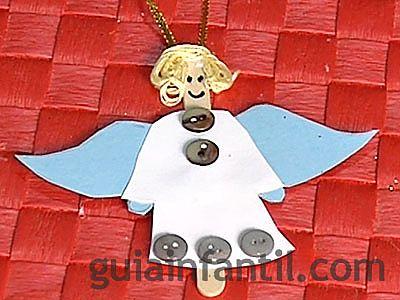 ángel manualidad 6