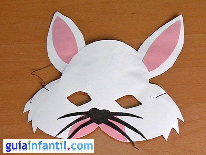 Antifaz De Conejo  Manualidades De Carnaval