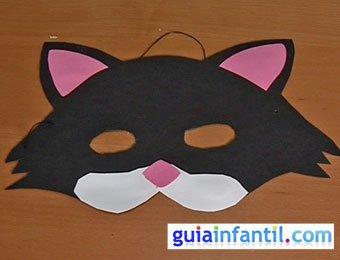 Antifaz de gato