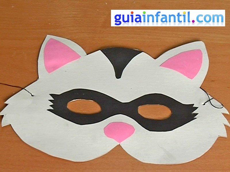 Antifaz De Mapache  Manualidades De Carnaval
