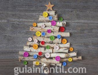 Árbol de Navidad con lentejuelas