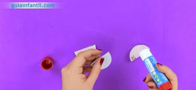 Bola de origami paso a paso. Paso 2