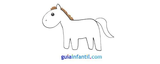 Cómo dibujar, paso a paso, un caballo.