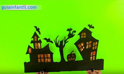 Casa encantada de Halloween. Paso 4