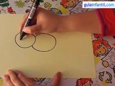 Aprende a dibujar un cerdo. Paso 1.