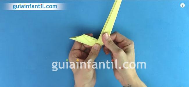 Cobra de origami