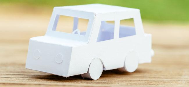 Manualidades de medios de transporte con material reciclado