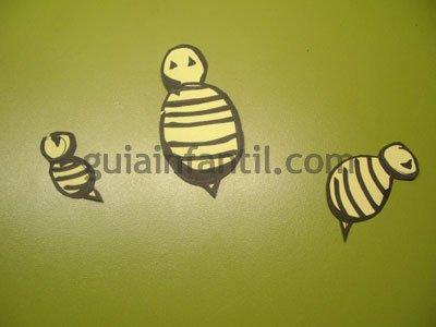 Colmena de abejas. Paso 3.