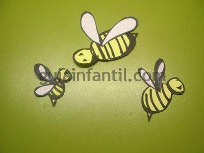 Colmena de abejas. Paso 4.