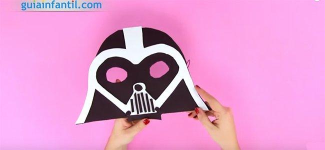 Careta de Darth Vader. Paso 5