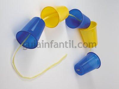 Dragón de plástico para niños. Paso 1