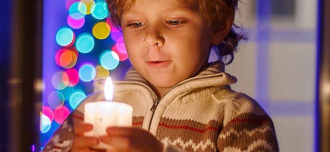 Experimentos para niños con velas