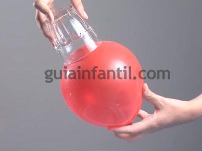 Hacer un globo fuerte. Paso 3.