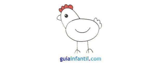 Cómo hacer, paso a paso, una gallina.