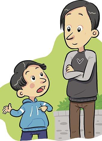 La comunicación entre padres e hijos debe iniciarse desde edades muy tempranas.
