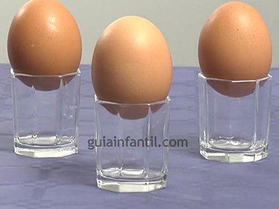 Cuánto peso aguanta un huevo. Paso 2