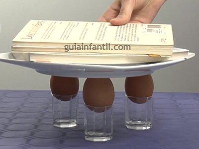 Cuánto peso aguanta un huevo. Paso 4