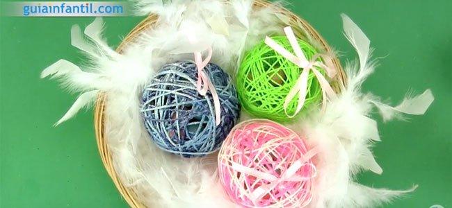 Huevo de Pascua con sorpresa. Paso 5