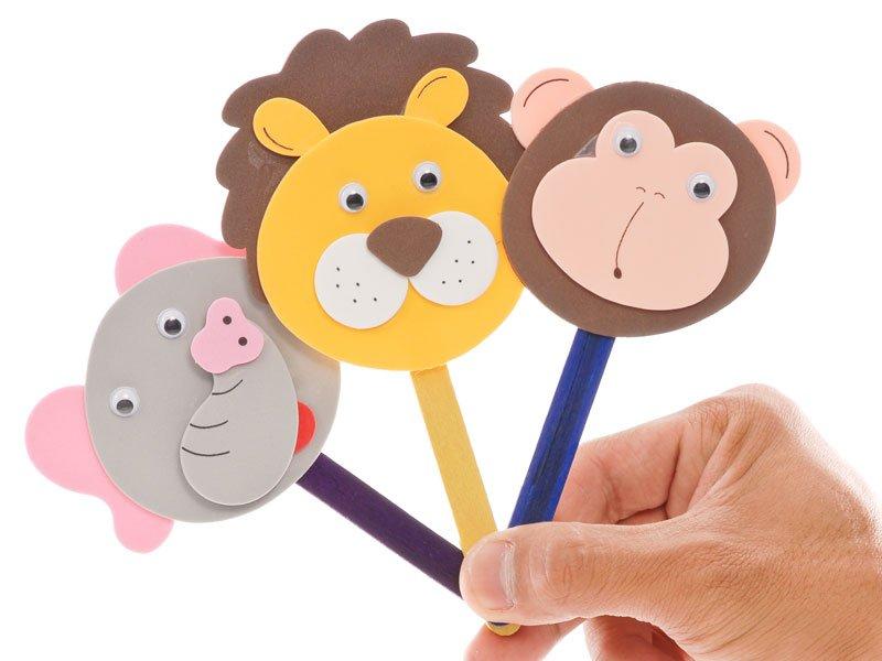 Resultado de imagen de marionetas con palos de helado
