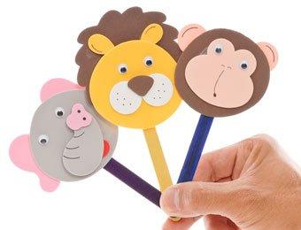 manualidades con palos de helado.