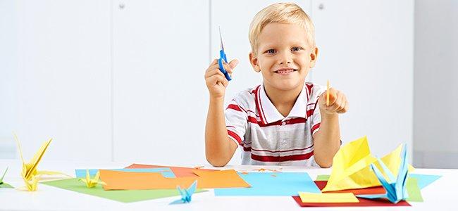 Manualidades infantiles para niños de 5 años de edad