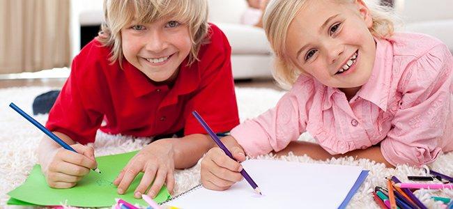 Manualidades para niños que tienen 6 años