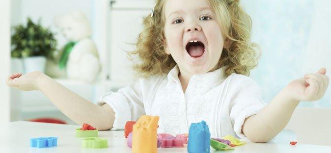 Manualidades con plastilina para niños