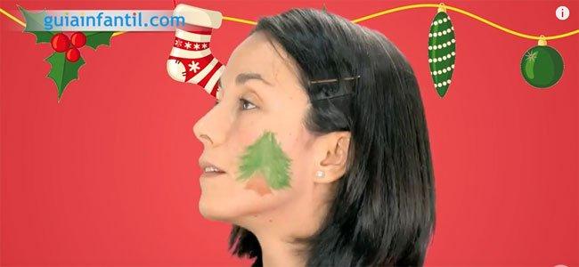 Maquillaje de Navidad. Paso 3