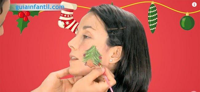 Maquillaje de Navidad. Paso 4