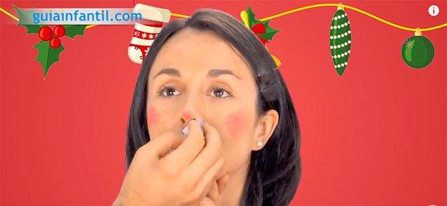 Maquillaje de elfo. Paso 1