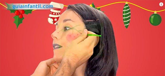 Maquillaje de elfo. Paso 3