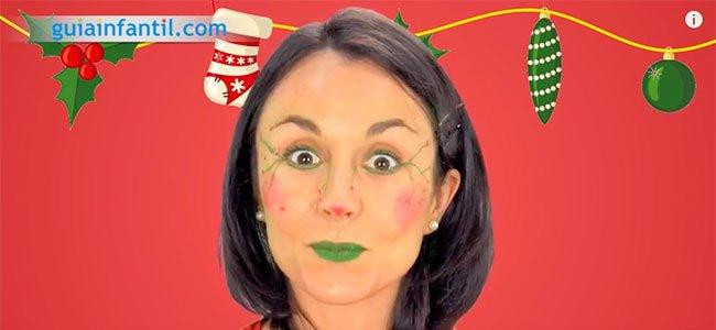 Maquillaje de elfo. Paso 4