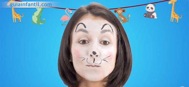 Maquillaje de ratón. Paso 3
