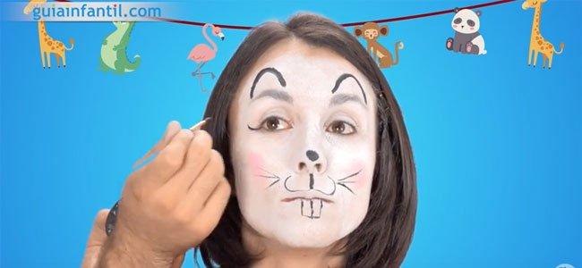 Maquillaje de ratón. Paso 4