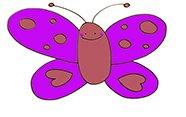 Aprender a dibujar una mariposa.