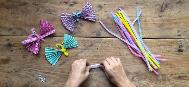 Mariposas de origami. Paso 1