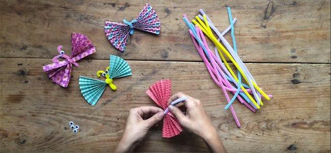 Mariposas de origami. Paso 2