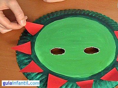 Máscara de dinosaurio 3
