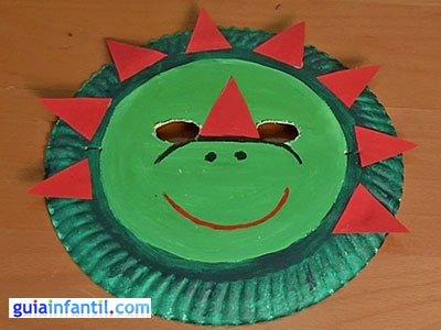 Máscara de dinosaurio 5