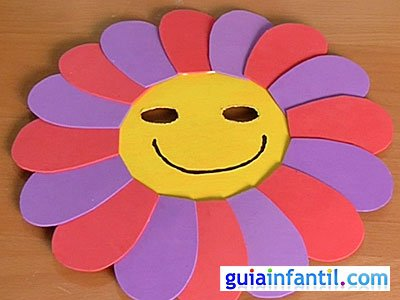 Máscara de flor 6