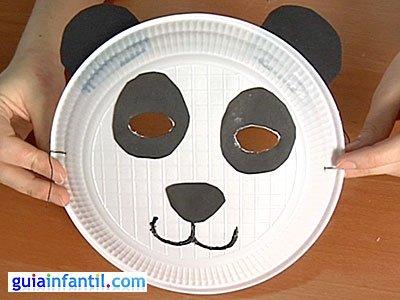 Máscara oso panda 6